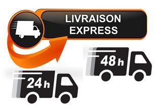 Livraison express 24-48h